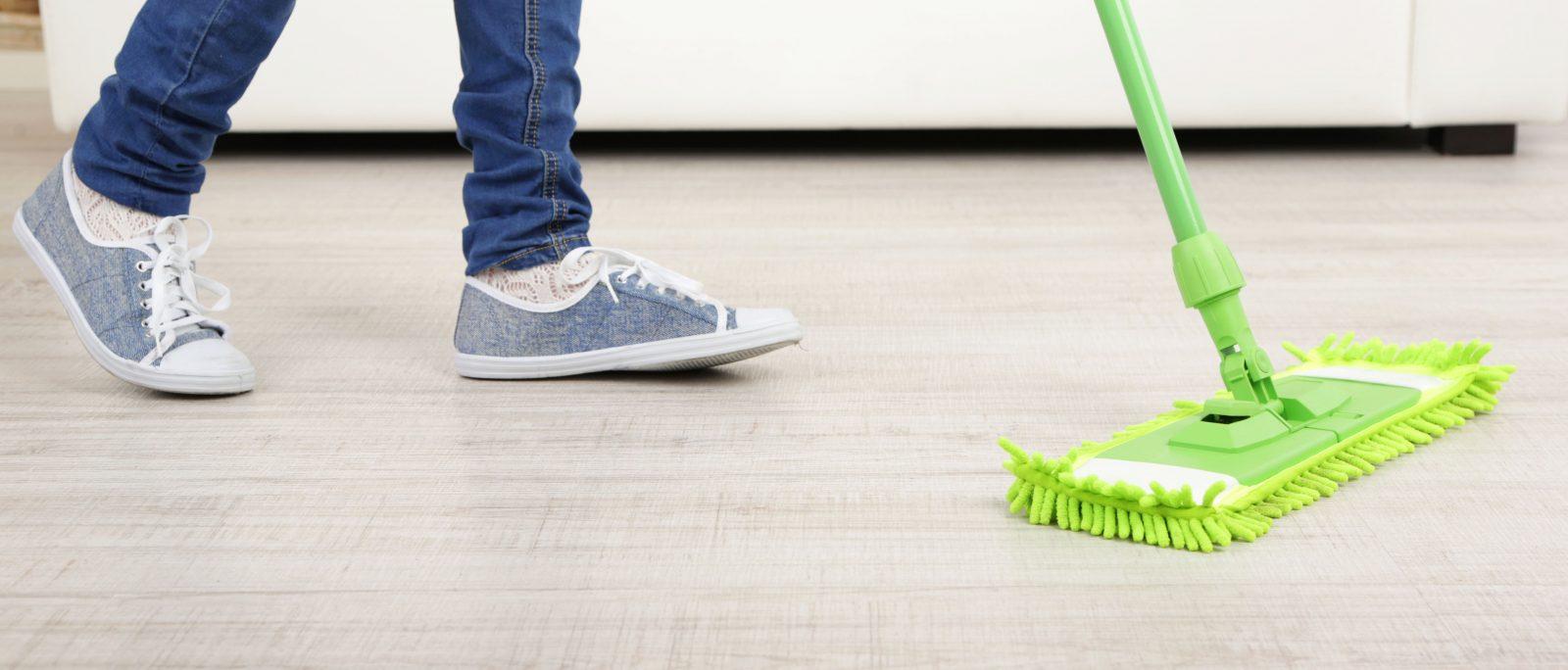 luxury vinyl flooring cleaning | Frazee Carpet & Flooring