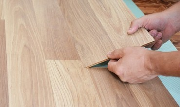 Laminate installation | Frazee Carpet & Flooring