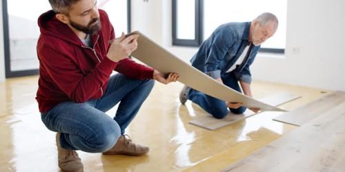 luxury vinyl tile flooring | Frazee Carpet & Flooring
