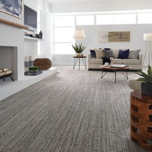 Spacious living room | Frazee Carpet & Flooring