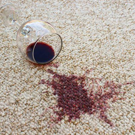Wine stain on Carpet | Frazee Carpet & Flooring