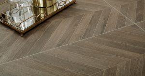 Glee chevron tile flooring   Frazee Carpet & Flooring