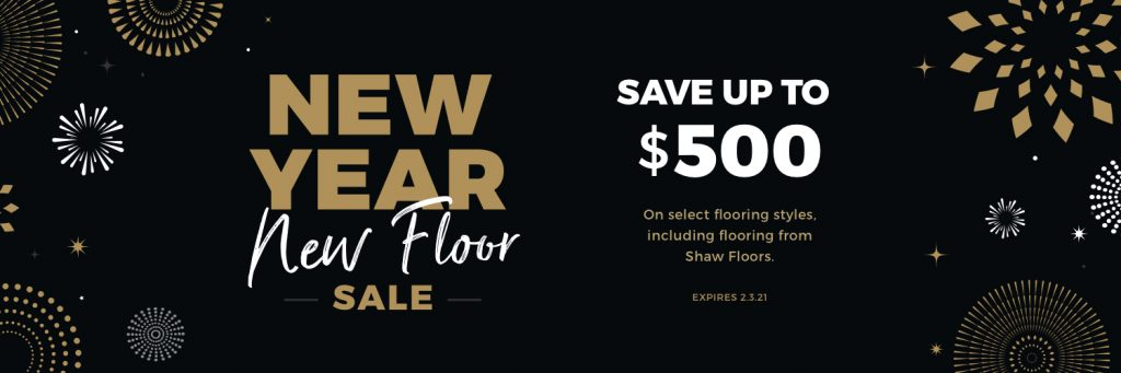 New Year New Floors Sale | Frazee Carpet & Flooring